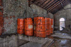 Tambores abandonados