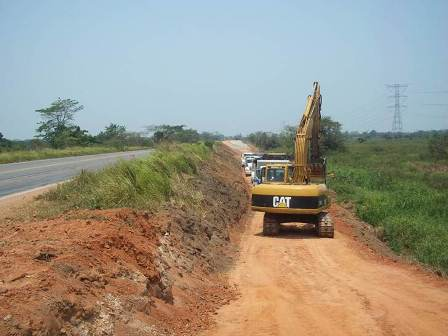 Ampliación de carretera Villahermosa-Escárcega