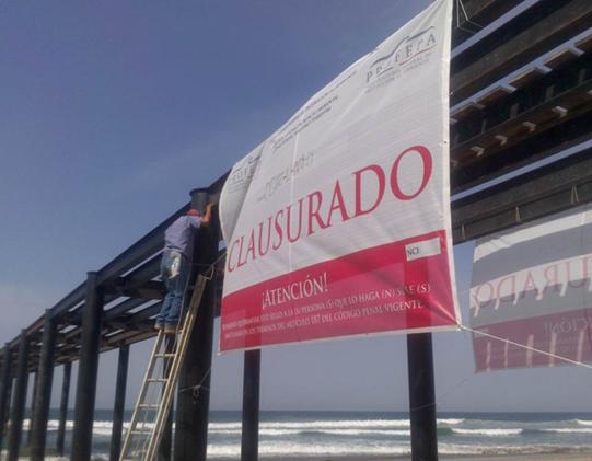 Clausura de muelle, Acapulco