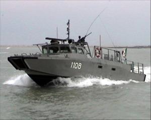 presencia de la armada en el Vaquita Marina