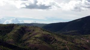 Paisaje de la Reserva de la Biosfera Tehuacan Cuicatlan