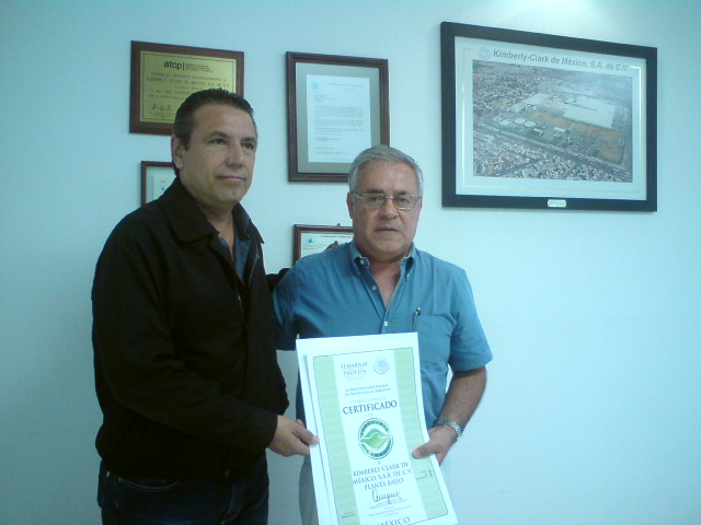 Entrega de Certificado Ambiental