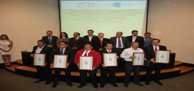 Entrega de Certificados Ambientales