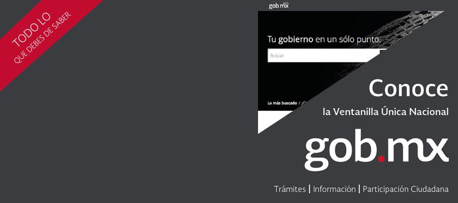 ¿Qué es GOB.MX?